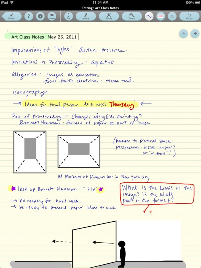 Note Taker HD Gets Updated - Brings Retina Display Support And More