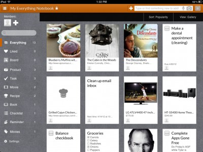 Springpad v3.0 Features An Overhauled Interface That Gives New Life To Your Ideas