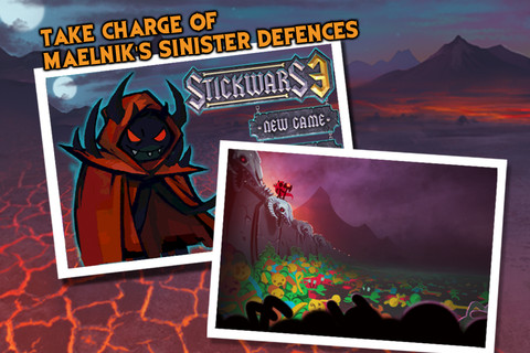 StickWars 3 Comes Out Of The Wilderness And Onto Your iOS Device