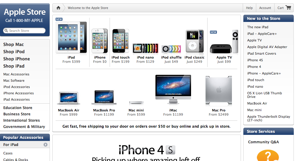 Apple Prepping New Online Store