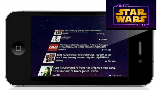 First Look: Kinect Star Wars Social Networking App