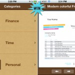 A Chance To Win Templates For Numbers Pro For iPhone And iPad