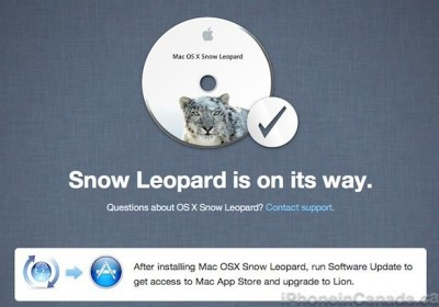 Apple Offering Free Copies Of Snow Leopard For Last MobileMe Customers