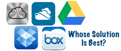 Updated: Comparing Five Of The Top Web-Based Storage Solutions