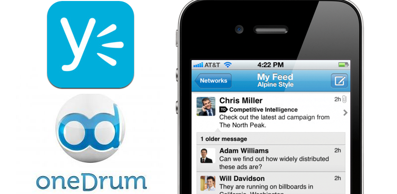 Yammer Acquires OneDrum, Allowing Companies To Collaborate From Anywhere