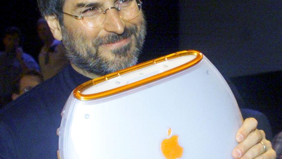 The Upside Down Apple Logo