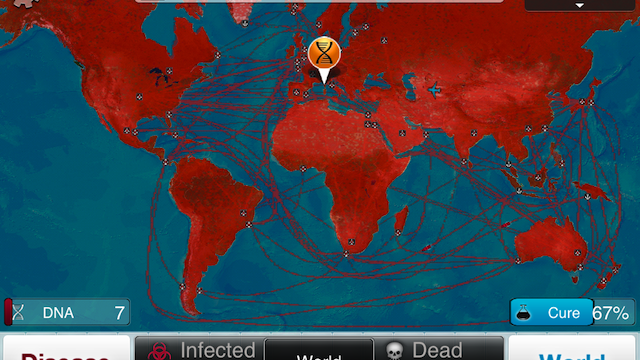 Spread Your Disease Around The World With Plague Inc.