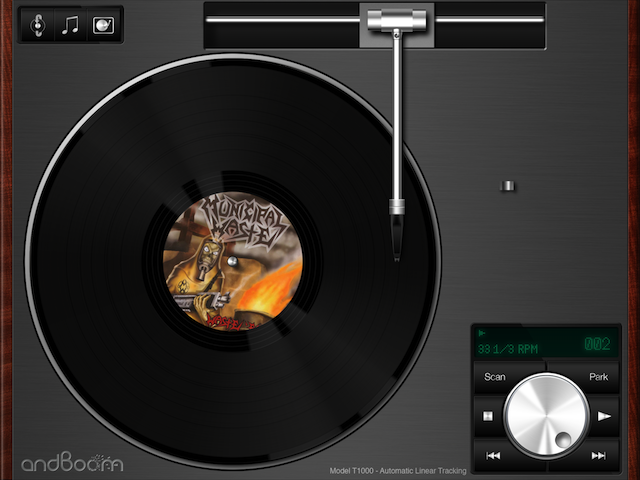 Listen To Your Music Downloads On A Virtual Turntable With