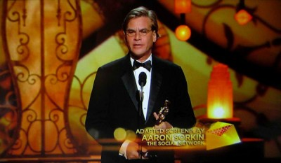 Aaron Sorkin talks about lead actor and 'heroine' of Sony's upcoming Steve Jobs biopic