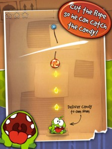 HD Versions Of Cut The Rope And Cut The Rope: Experiments Gain Retina iPad Support