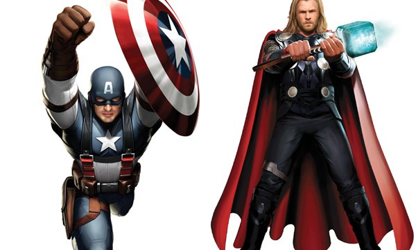 CAPTAIN AMERICA: Sentinel Of Liberty and THOR: Son Of Asgard On Sale For This Week Only