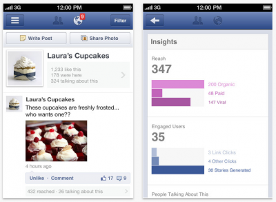 Facebook Pages Manager Is Now Optimized For iPad ... Or Is It?