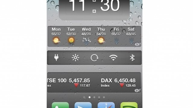 Jailbreak Only: HomeSpringPage - A Home Screen Page Reserved For Widgets