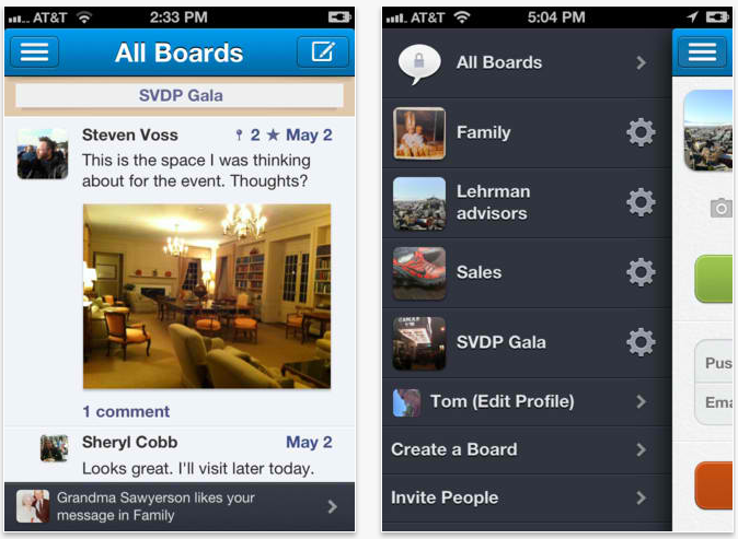 Glassboard 2.0 Introduces New Navigation And News Feed Experience Across The Board