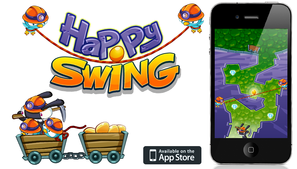 Happy Swing Swings You Into A Couple Of Golden Egg-Stealers