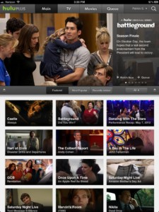 Hulu Plus For iOS Update Brings Retina iPad Support Plus Better AirPlay Mirroring