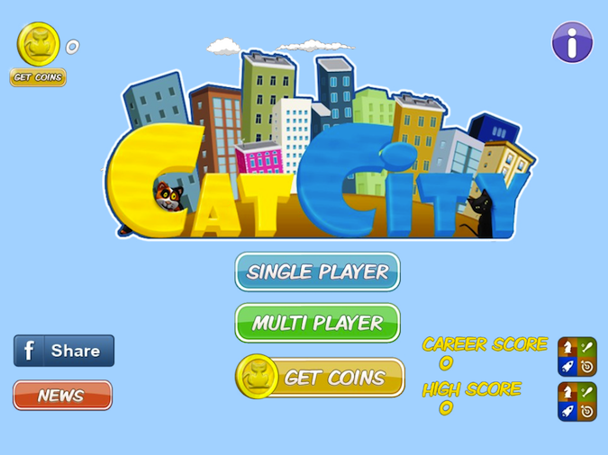Quirky App Of The Day: Catcity