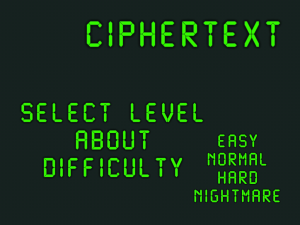 Ciphertext by Mete Özgüz screenshot