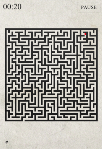 Swipe To Find Your Way Out In Mazes