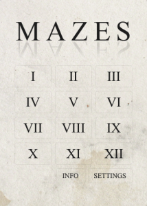Mazes by Parachute Apps screenshot