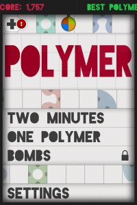 Polymer Is A Fresh Take On iPhone Puzzle Games