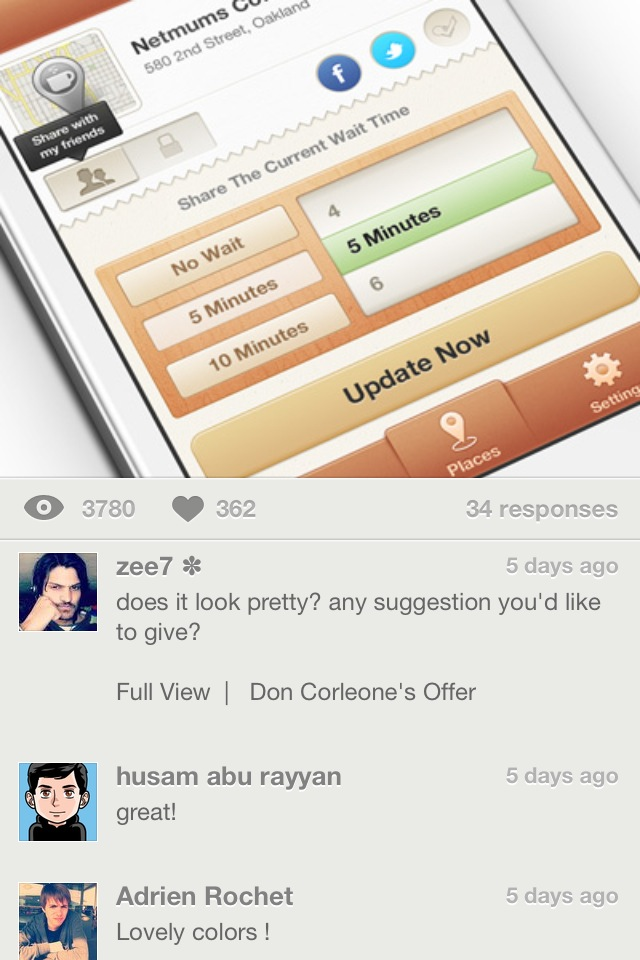 Backboard Is What An iPhone Dribbble Client Should Be Like