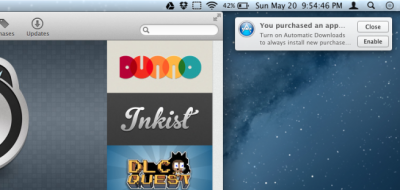 Further Proof Of Mac OS X iOSification: Automatic App Downloads Coming Soon To Mountain Lion