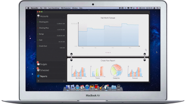 MoneyWiz Now Available For On The Mac Too