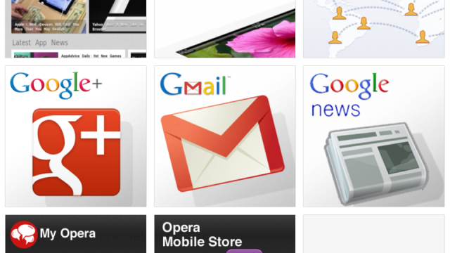 Opera Mini Web Browser Updated With Retina iPad UI And Data Usage Info