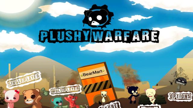 Plushy Warfare: Become Rambo Bear