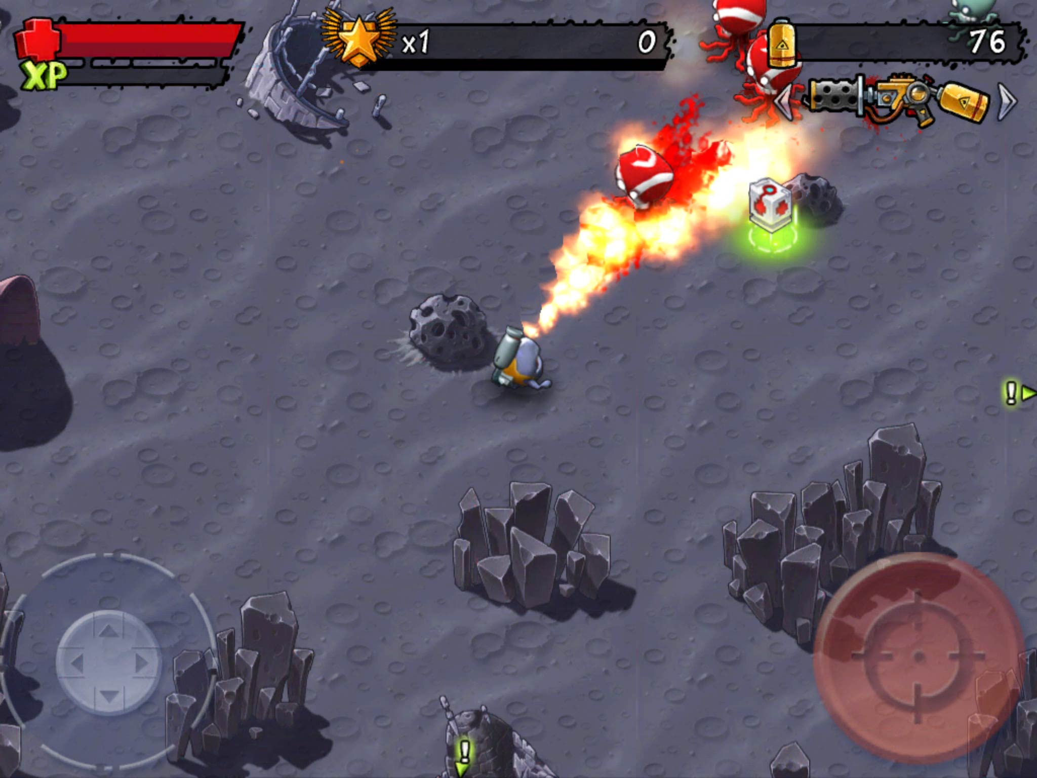 Slaughter Aliens To Save The Kitten In Monster Shooter: The Lost Levels