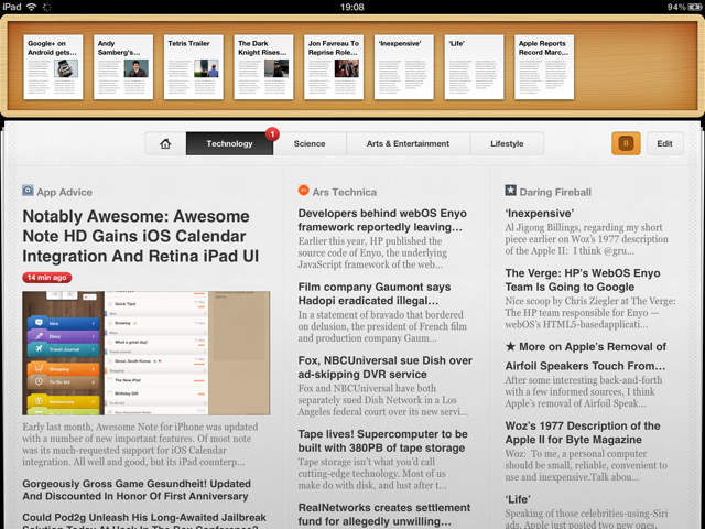 Pulp For iPad And Mac Updated With Smart Home Page And iCloud Sync
