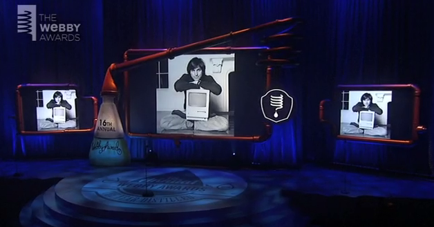 Webby Awards Features Celebrity-Hosted Tribute To Late Apple CEO