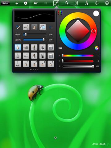 SketchBook Pro For iPad Improves Color Palette, Adds Palm Rest For Your iCanvas