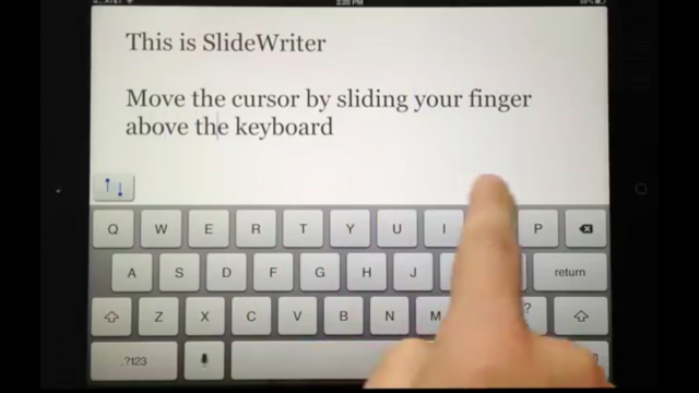 SlideWriter Hopes To Highlight Ease Of Text Editing On The iPad