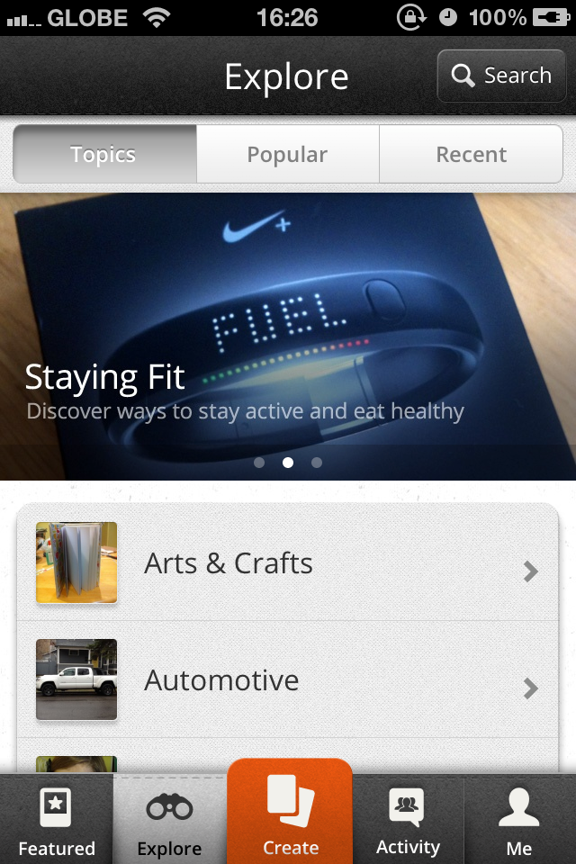 Let Snapguide Guide You Through Topics Of Interest With Its New And Snappy Search Functionality