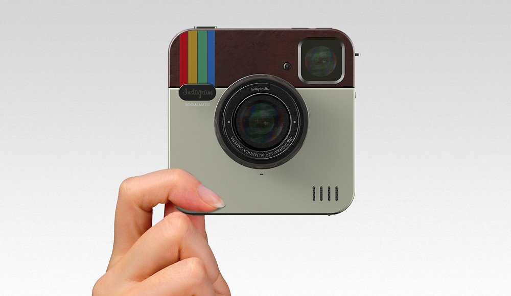 Oh, Snap! Socialmatic Camera Concept Merges Instagram With Polaroid