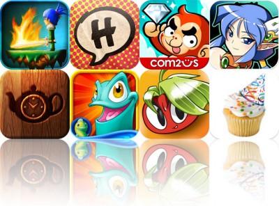 Today's Apps Gone Free: Swordigo, Halftone, And Escape The Ape
