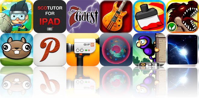 Today's Apps Gone Free: Rinth Island, SCOtutor For iPad, The 7th Guest, And More