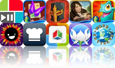 Today's Apps Gone Free: PicPlayPost, Mahjong Towers Touch, Monster Wars, And More
