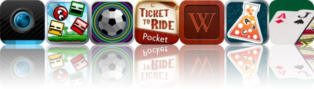 Today's Apps Gone Free: PicShop HD, Blosics, Blast Ball, And More