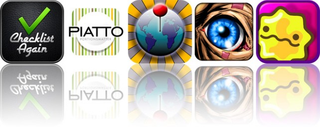 Today's Apps Gone Free: Checklist Again, Piatto, Locationizer, And More