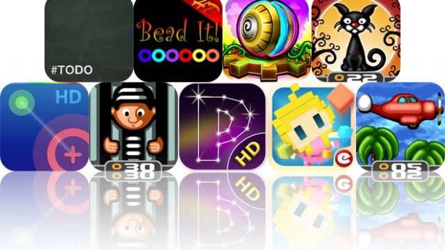 Today's Apps Gone Free: #Todo, Bead It, Gears, And More