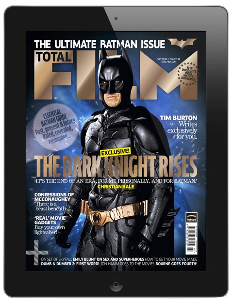 Holy Interactive Magazine App, Batman!