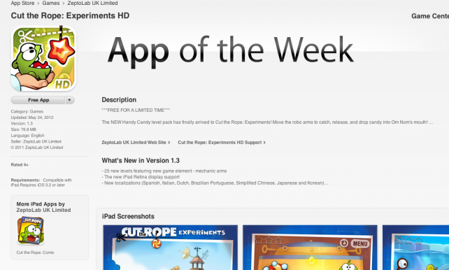 Ahead Of Memorial Day, App Store Gets Some Interesting Updates