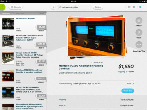 Official Ebay Ipad App Moves Forward With Improvements To Back Button Behavior And More