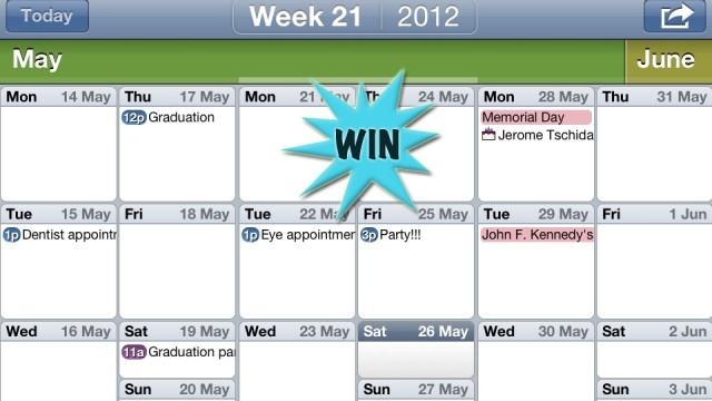 A Chance To Win An Easy Calendar Promo Code With A Retweet Or Comment