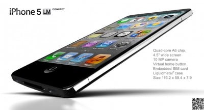 You Have To See This iPhone Liquidmetal Concept