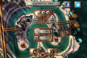 Slingshot Racing by Crescent Moon Games screenshot