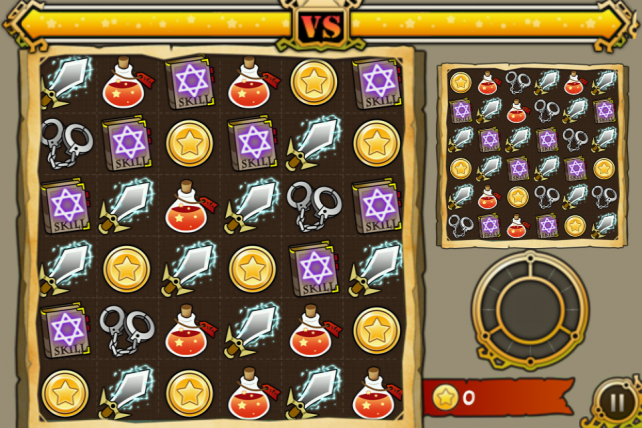 Unleash Your Inner Match-3 Battler In Witch Wars